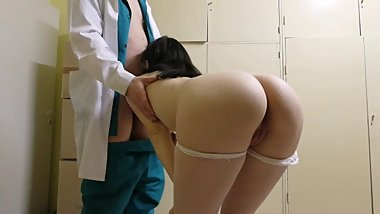 18 year old girl was fucked by a doctor Anal_Loves