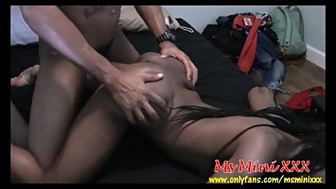 Ebony Thot Teen Ms Mini Doggystyle