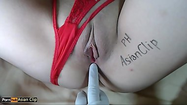 ASMR Fingering pussy & anal