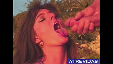 CS-018 - Massive cumshot in mouth - Slow Motion - Hayley Russell