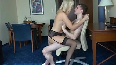 My Skinny 18yo Best Friend Fucks My Horny Mature German Mom In Her Pussy