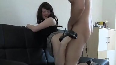 18yo German Daughter Gets Anal Fucked By Her Step Dad
