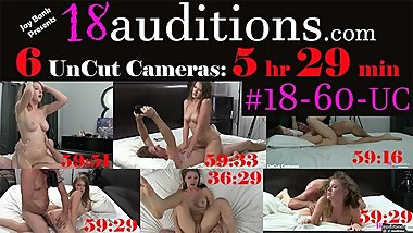 #18-60-UC 6 UnCut Cameras (5 Hrs 29min Total) from Clip #18-60