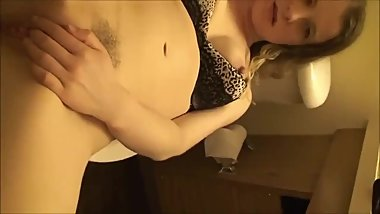 Hotel steward Fucks my sister in the ass and cums on pussy