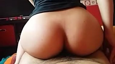 AMWF amateur: Teaser Reverse cowgirl, PAWG POV