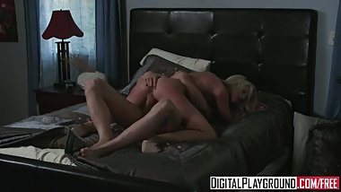 Digital Playground - Riley Steele Gets fucked hard by Erik Everhard