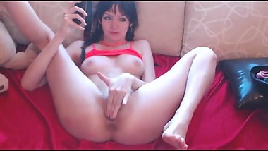 June 2018 camshow with vigorous pussy and squirt action, perfect angles