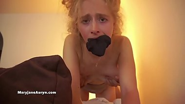 Rough Creampie Makes Her Cry