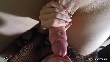 Perfect Teen Deepthroat and Sucking Swallow