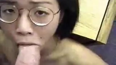 18 year old Chinese high school student fucked in all 3 holes by white cock