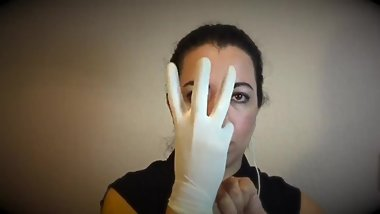 Relaxing latex gloves 2018