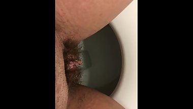 Young 18 Year Old Pissing