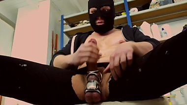 VERBAL PIG BATOR - BALLSTRETCHED HOODED PERVERT IN MAN CAVE 2018